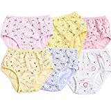 Lanzylin Girls Underwear Baby Toddler Kids Briefs Hipster Panties 6-Pack (4-5 Years Old)