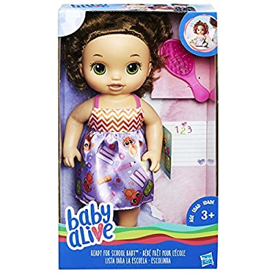 Baby Alive Ready For School Baby (Brunette) from Hasbro
