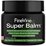 Antifungal Balm - Made in USA - Helps Treat Eczema, Ringworm, Jock Itch, Athletes Foot and Nail Fungal Infections - Best Ointment to Soothes Itchy, Scaly or Cracked Skin