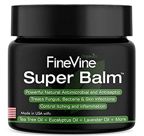 Antifungal Balm Made In Usa Helps Treat Eczema Ringworm Jock Itch Athletes Foot And Nail Fungal Infections Best Ointment To Soothes Itchy