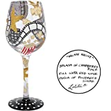 Lolita Glasses - ''Movie Night'' 2010 New Wine Glass JUST IN!