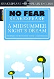 A Midsummer Night's Dream (Turtleback School & Library Binding Edition) (Sparknotes No Fear Shakespeare)