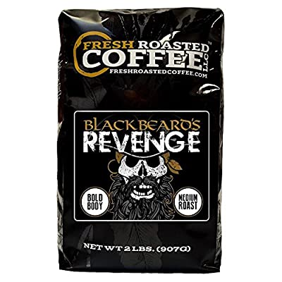 Blackbeard's Revenge, Whole bean coffee, Fresh Roasted Coffee LLC.