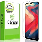 [2-Pack] IQ Shield LiQuidSkin Clear [Case Friendly] Screen Protector for OnePlus 6T Bubble Free Film