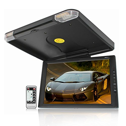 Legacy High Resolution TFT Roof Mount Monitor with IR Transmitter and Wireless Remote Control