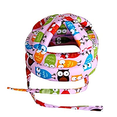 Frjjthchy Toddler's Safety Helmet Light Weight Safety Baby Head Protector