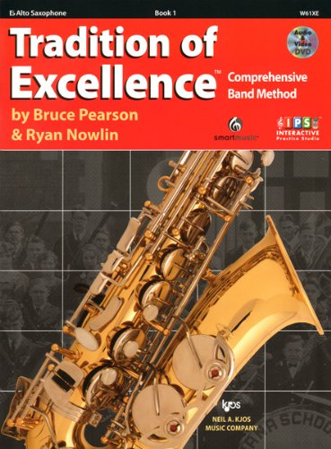 W61XE - Tradition of Excellence Book 1 Alto Saxophone