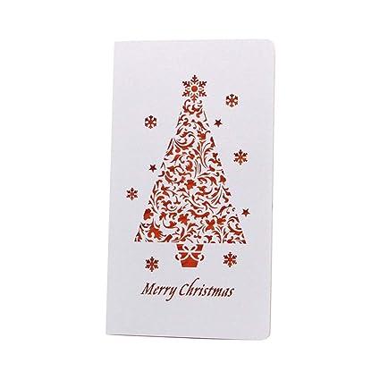 Christmas Greeting Cards Design.Amazon Com Luoem 10pcs Creative Christmas Greeting Cards