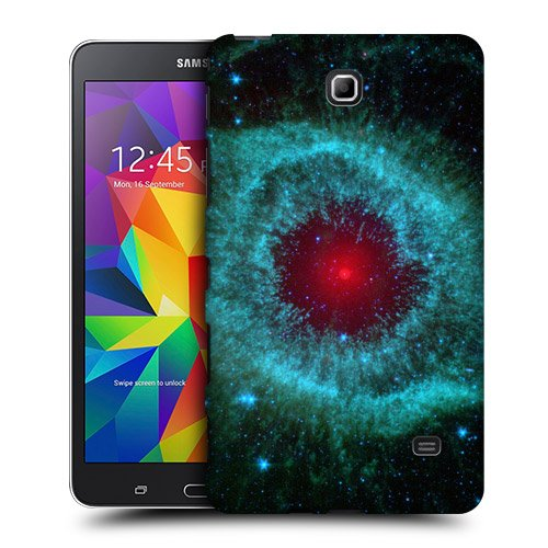 Head Case Designs Helix Nebula Outer Space Protective Snap-on Hard Back Case Cover for Samsung Galaxy Tab 4 7.0 T230 T231 T235