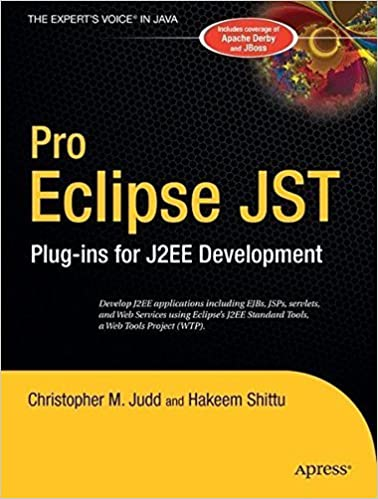 Pro Eclipse JST: Plug-ins for J2EE Development by Christopher M. Judd (2005-09-14)