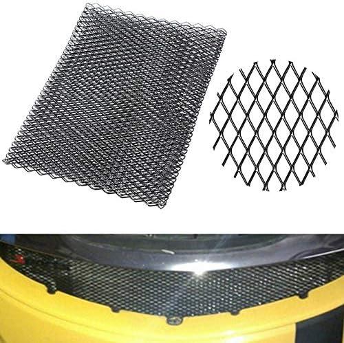 WOVELOT Universal Black Aluminium Racing Grille Mesh Vent Car Tuning Grill 100Cm X 33Cm