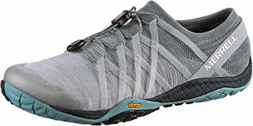 Merrell Women's Trail Glove 4 Knit Sneaker, Vapor, 7 M US by Merrell