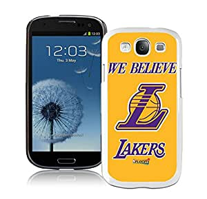 Samsung Galaxy S3 Case,Excellent protection LA lakers 2 White For Samsung Galaxy S3 Case
