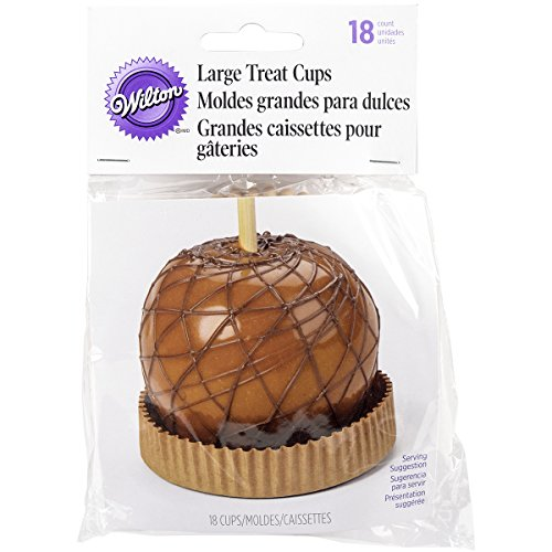 Wilton 415-2407 Caramel Apple Treat Cups, -