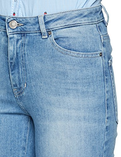 para Straight Mujer 433 Vaqueros Casual Blue Azul BOSS Bright wqxtUE