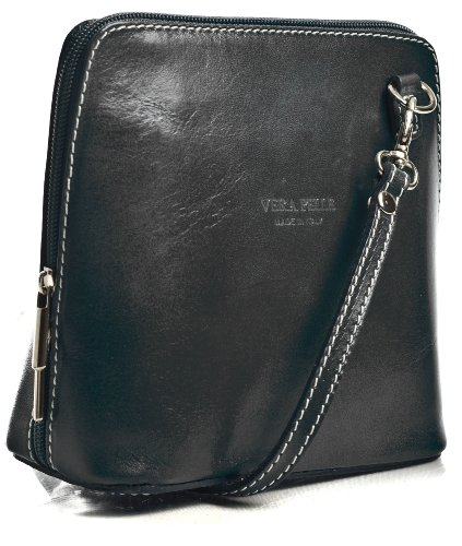 Big Handbag Shop, Borsa a tracolla donna One Grigio