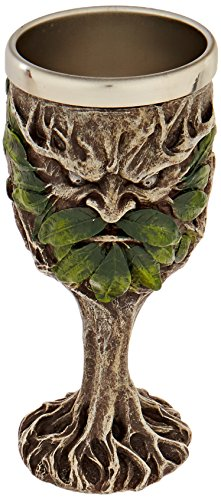 Design Toscano Forest Spirits Greenman Goblet Collection: Grendal The Green