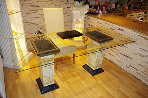 AWD Mesa Ordenador Mesa Oficina Mesa de manicura uñas de Cristal ...