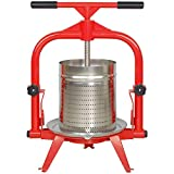 MacIntosh Fruit Press 4 Gallon + Stainless Basket