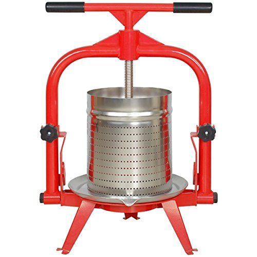 MacIntosh 4 Gallon Fruit Press + Stainless Basket ()