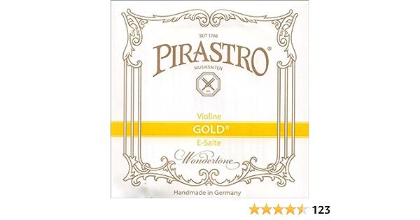 Pirastro Oliv Series Violin E String 4//4 Medium Loop End