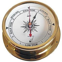 Trintec Omni Collection Brass Tide Indicator Marine Nautical 3.5\