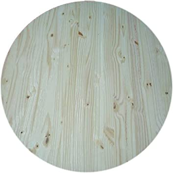 Allwood X Round Table Top Spruce Round Panel - Unfinished round table top