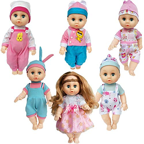 Child Playtime Outfits - 6-Pack Playtime Outfits for10- 11
