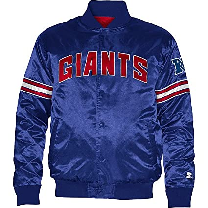 6626ec51c Amazon.com   STARTER York Giants Youth Satin Jacket X-Large 18-20 ...