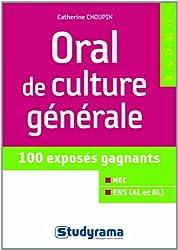 Oral de culture générale