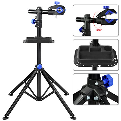 Pro Bike Adjustable 40'' to 60'' Repair Stand w/ Telescopic Arm Cycle Bicycle Rack by
