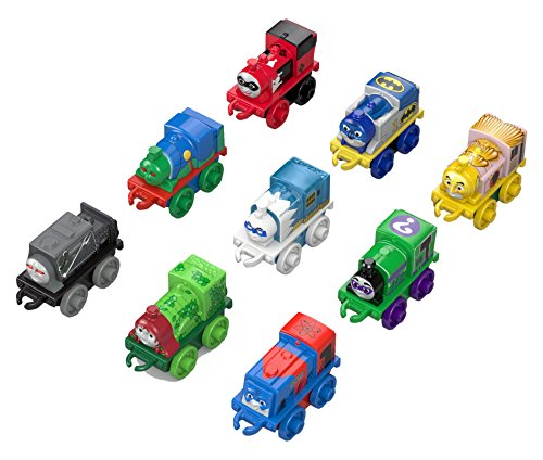 Fisher-Price Thomas & Friends MINIS DC Super Friends Character, 9 Pack (Thomas Train Characters)