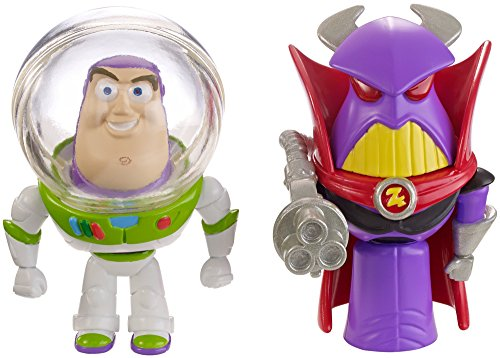 Disney/Pixar Toy Story 4″ Buzz and Zurg Figure (2-Pack)