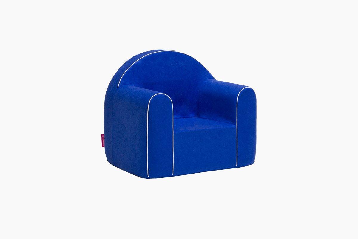 Mini Kindersessel Kinder Babysessel Baby Sessel Sofa Kinderstuhl Stuhl Schaumstoff Umweltfreundlich (Blau) Badum