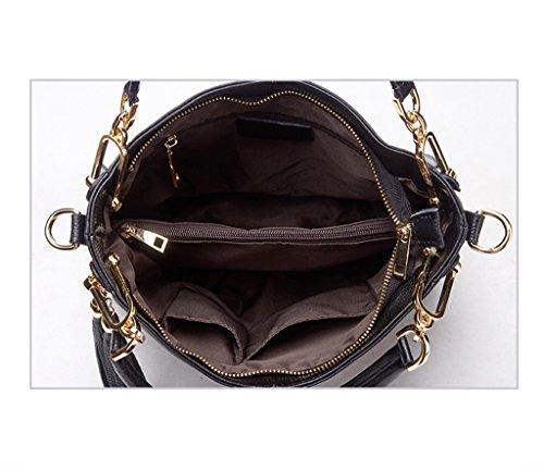 CRR Lady Dames à Sacs Sacs A Véritable en Bandoulière Tassel Sacs pour A Designer à Couleur Cuir Main rqCI4wYrx