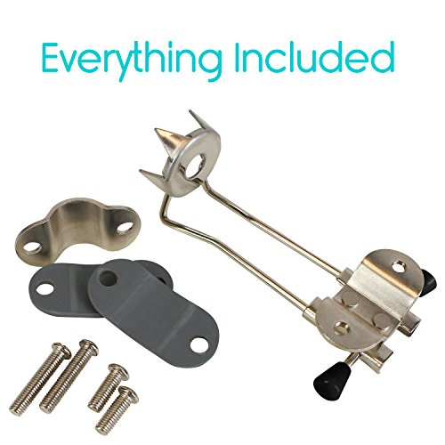 Vive Cane Tips For Ice Heavy Duty Metal Retractable 4 Prong