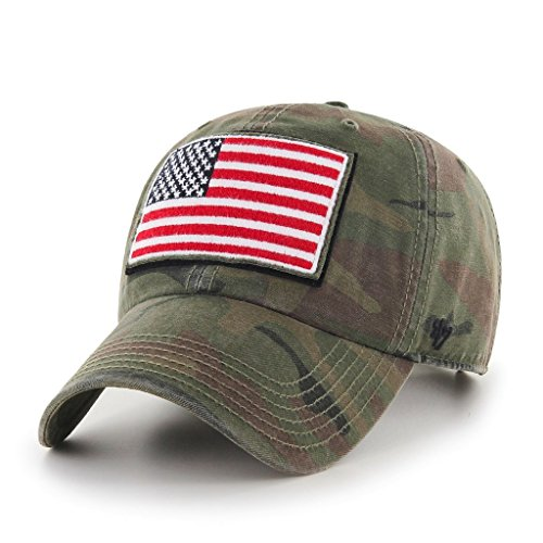 '47 Brand Men's Operation Hat Trick Movement Clean Up  Camo Adjustable Military Cap ()