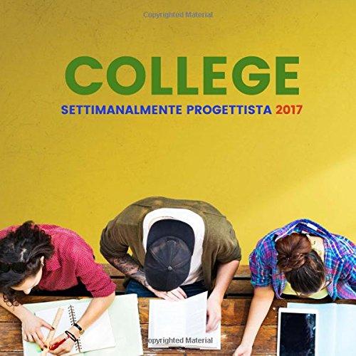Amazon.com: College settimanalmente progettista 2017 ...
