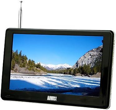 August DA900C - Televisor portátil de 9