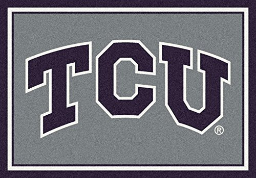 Texas Christian College Team Spirit Area Rug by Milliken, 7'8'' x 10'9'' by Milliken