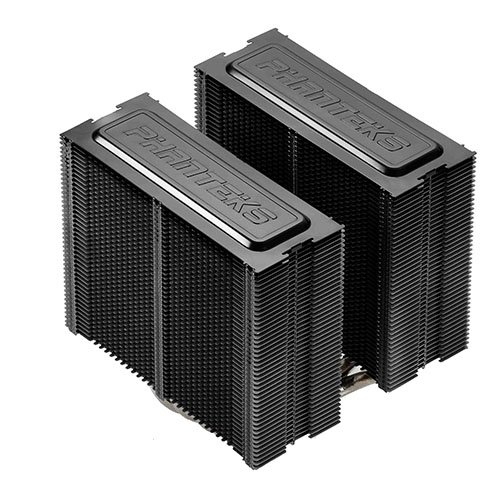 Phanteks CPU Cooler with 5 x 8mm Dual Heat-pipes, 140mm Premium Fans and PWM Adaptor, Patented P.A.T.S Coating, PH-TC14PE_BK (Black) by Phanteks (Image #3)