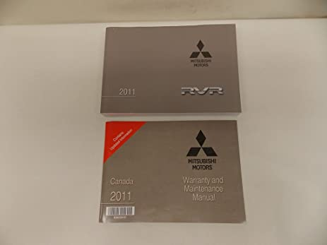 amazon com 11 2011 mitsubishi rvr french owners manual book guide rh amazon com Best Mitsubishi Warranty Best Mitsubishi Warranty