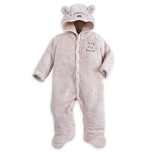 Disney Winnie the Pooh Plush Character Romper for Baby Size 12-18 MO Brown (Winnie The Pooh Character Costumes)