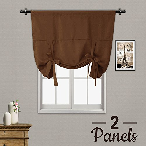 Rose Home Fashion Thermal Insulated Blackout Balloon Curtain