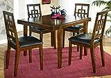 Ashley Furniture Signature Design - Cimeran Dining Room Table and Chairs Set - 1 Table and 4 Chairs - Set of 5 - Medium Brown