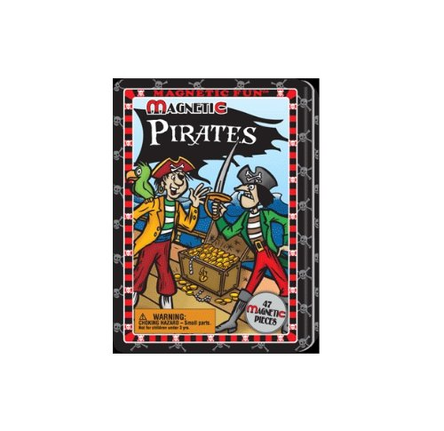 (Lee Publications Magnetic Fun Tin Pirates)