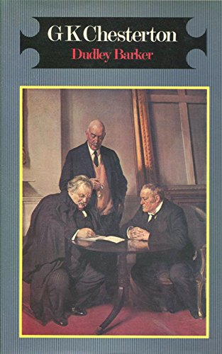 book cover of G. K. Chesterton; a Biography