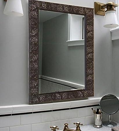 Buy Zahab Fibre Frame Honeycomb Design Bathroom Mirrorsize