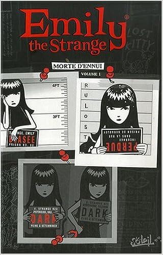 Amazon Fr Emily The Strange Bd Tome 1 Morte D Ennui