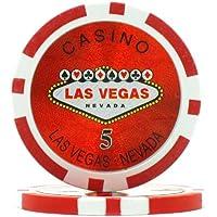 Trademark Poker Arcilla Laser Las Vegas fichas de póquer